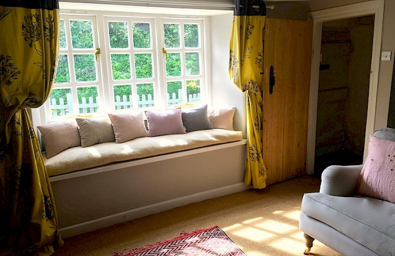 Sun drenched window seat